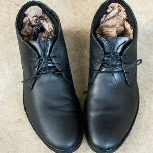 Bostonian Black Leather Ankle Boots Men's Sz 13M